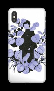 Blå blader deksel IPhone XS Max