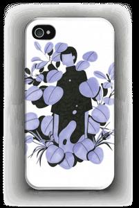 Sininen terälehti kuoret IPhone 4/4s