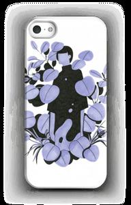 Sininen terälehti kuoret IPhone 5/5S