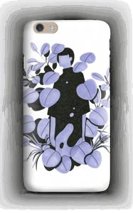 Sininen terälehti kuoret IPhone 6 Plus