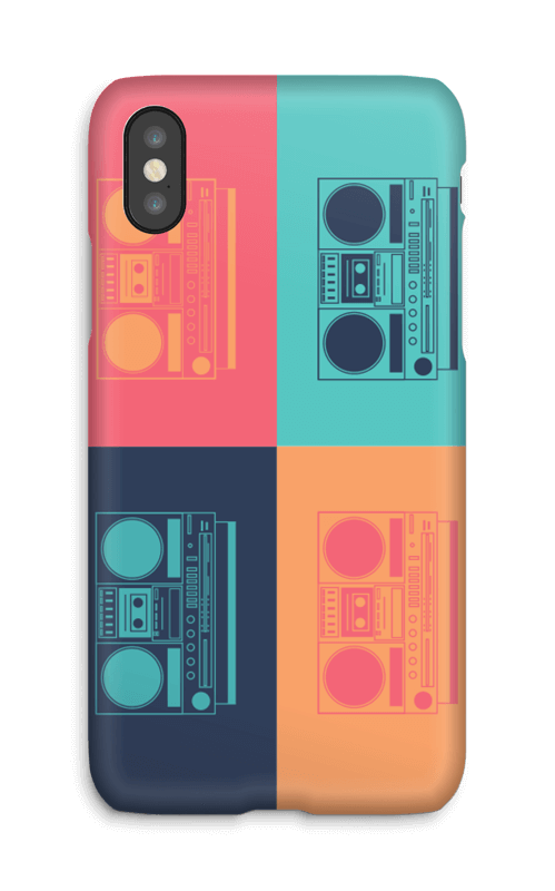Boombox world deksel IPhone X