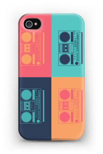 Boombox world deksel IPhone 4/4s