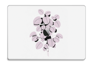 "Rosa blad Skin MacBook Pro 15"" 2016-"