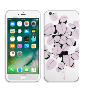 Rosa blad Skin IPhone 6 Plus