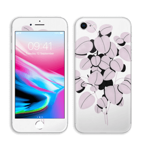 Rosa blad Skin IPhone 8