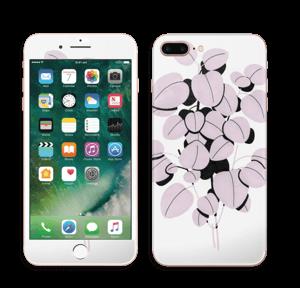Rosa blad Skin IPhone 7 Plus
