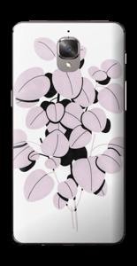 Dusty pink leaves Skin OnePlus 3