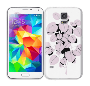Rosa blad Skin Galaxy S5
