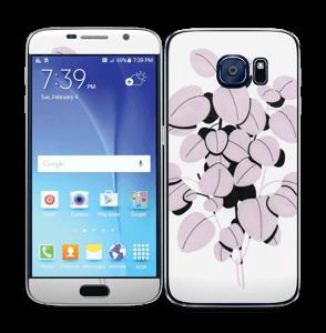 Rosa blad Skin Galaxy S6