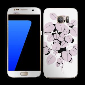 Rosa blad Skin Galaxy S7