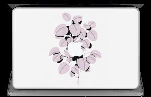 """Dusty pink leaves Skin MacBook Air 11"""""""