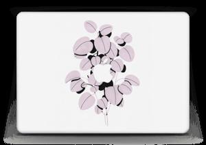 """Dusty pink leaves Skin MacBook Air 13"""""""