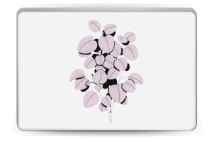 Dusty pink leaves Skin Laptop 15.6