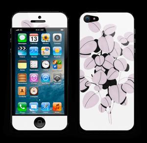 Rosa blad Skin IPhone 5