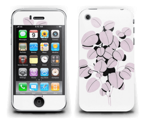 Rosa blad Skin IPhone 3G/3GS