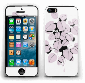 Rosa blad Skin IPhone 5s