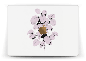 Rosa blad Skin MacBook 12""