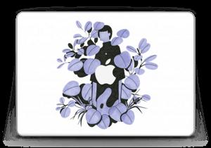 "Pétales bleus Skin MacBook Pro Retina 13"" 2015"