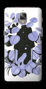Blålilla blad Skin OnePlus 3T