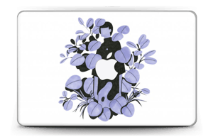 "Purple blue Skin MacBook Air 11"""