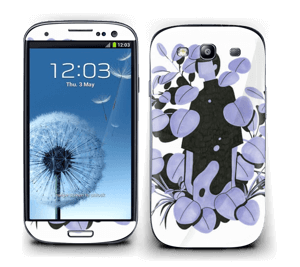 Purple blue Skin Galaxy S3