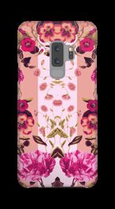 Rosa Blumen Handyhülle Galaxy S9 Plus