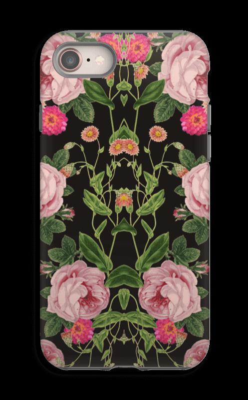 Floral tunes case IPhone 8 tough