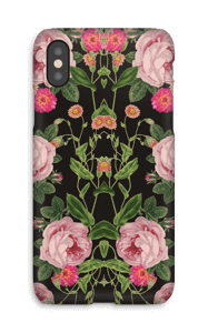 Floral tunes case IPhone X