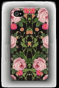 Kukkakuvio kuoret IPhone 4/4s