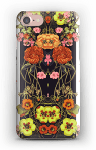 Orange blomster cover IPhone 7