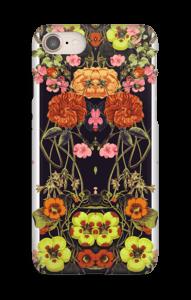 Oranssit kukat kuoret IPhone 8