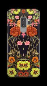 Orange Flora Handyhülle Galaxy S9 Plus