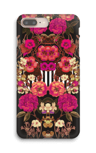Pink floral crossing case IPhone 8 Plus