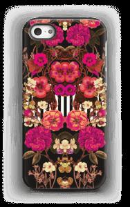 Rosa blomsterkors deksel IPhone 5/5s tough