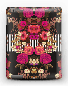 Pink floral crossing case IPad 4/3/2