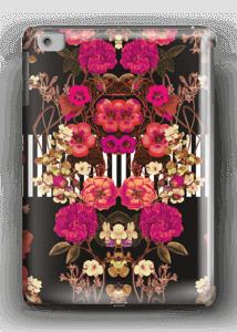 Roze bloemencorso hoesje IPad mini 2