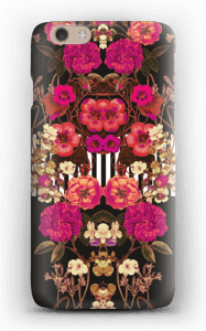 Pink floral crossing case IPhone 6