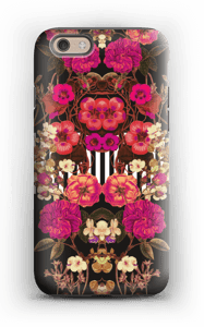 Pink floral crossing case IPhone 6 tough