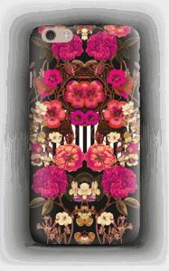 Roosat kukkaset kuoret IPhone 6 Plus