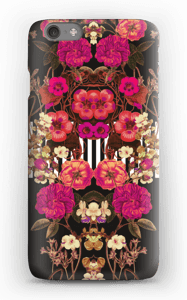 Ghirlanda di fiori rosa cover IPhone 6s