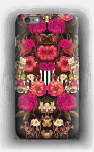 Roze bloemencorso hoesje IPhone 6s Plus