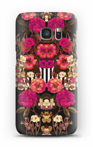 Lyserødt blomsterkryds cover Galaxy S7