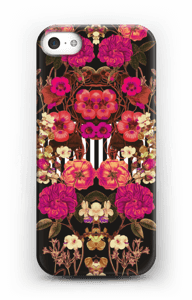 Pink floral crossing case IPhone SE