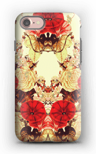 Blomstersymmetri deksel IPhone 7 tough