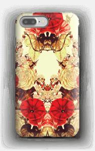 Blomstersymmetri deksel IPhone 7 Plus tough