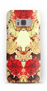 Blomstersymmetri cover Galaxy S8