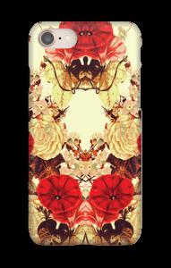 シンメトリーの花 ケース IPhone 8