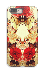 Blomstersymmetri cover IPhone 8 Plus tough