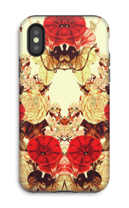 Symmetry of floret case IPhone X tough