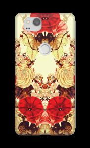 Blomstersymmetri deksel Pixel 2